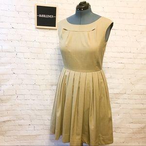 Beautiful Neutral Fitting Calvin Klein Dress